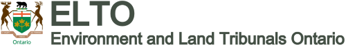 Environment and Land Tribunals Ontario